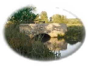 Bridge over River Bride just outside Burton Bradstock .