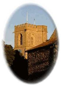 Burton Bradstock Church From the village Green